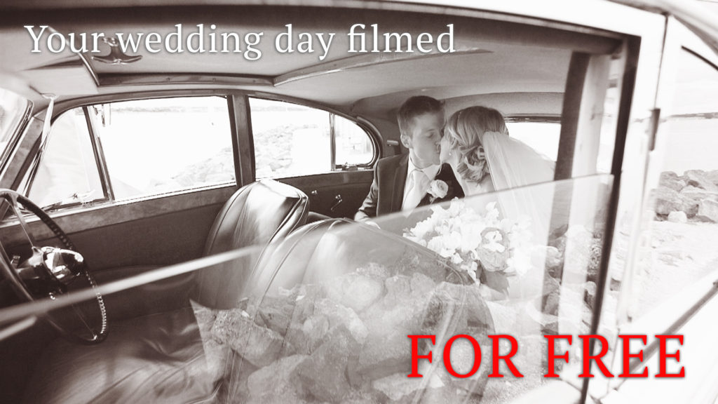 Your wedding video - for FREE
